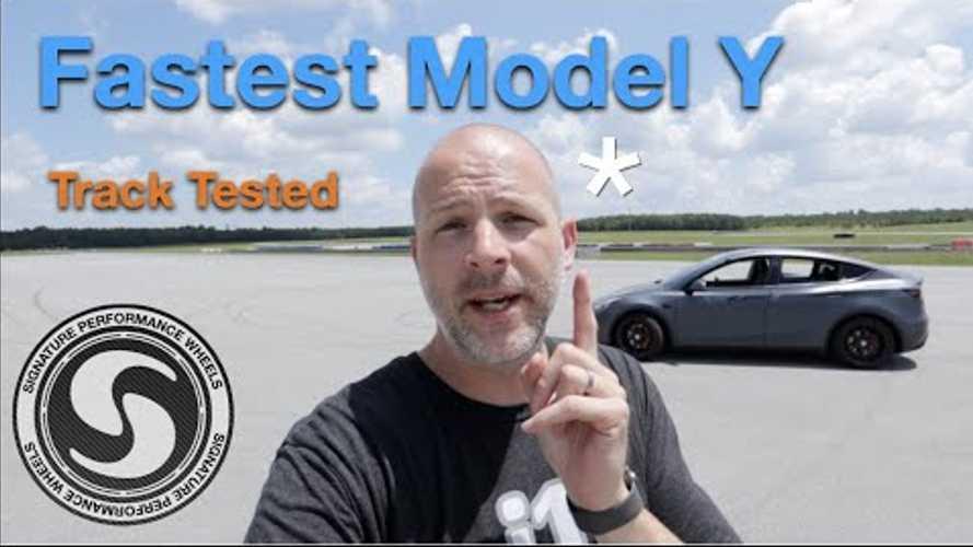 Tesla Model Y Performance Tested: Fastest 1/4-Mile Time Attempts