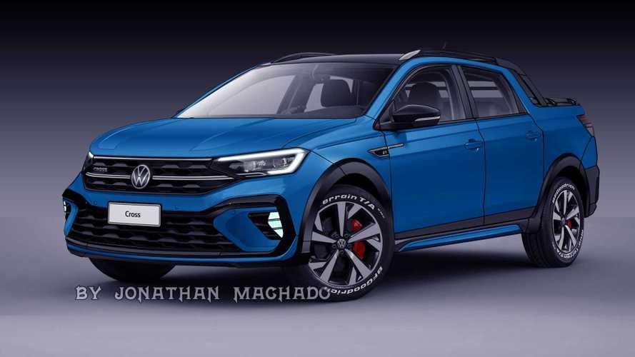 Nova VW Saveiro? Picape ganha projeção com base no Nivus