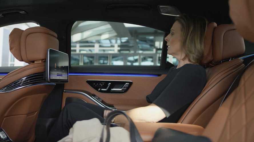 2021 Mercedes S-Class interior - 5130392