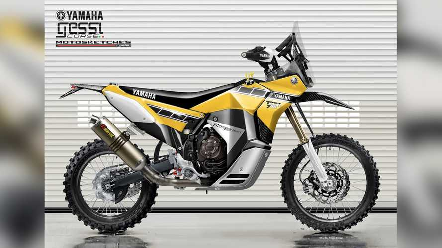 Here's What The Rally-Ready Yamaha Ténéré 700 Will Look like