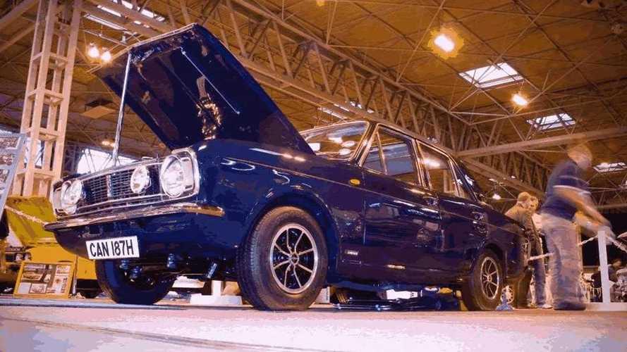 Damaged Ford Cortina Savage V6 beats the odds for top award
