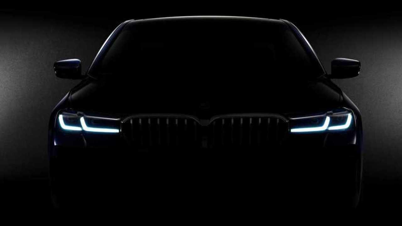 2021 BMW 5 Series LCI teaser