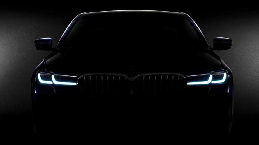 2021 BMW 5 Series LCI teaser