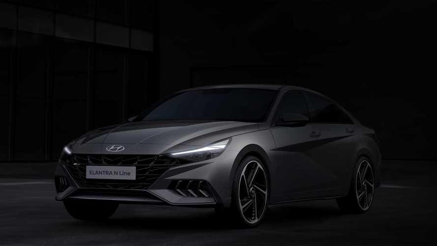 Продемонстрирована внешность «подогретой» Hyundai Elantra