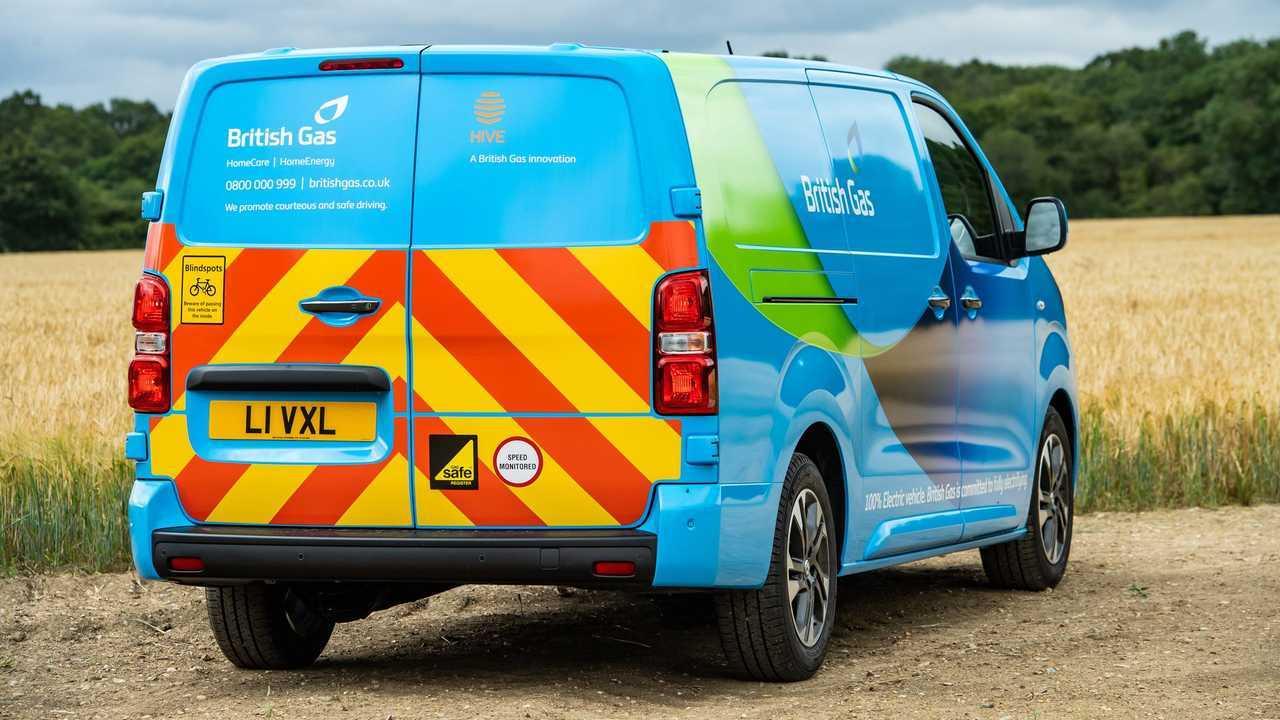 British Gas EVs: Vauxhall Vivaro-e