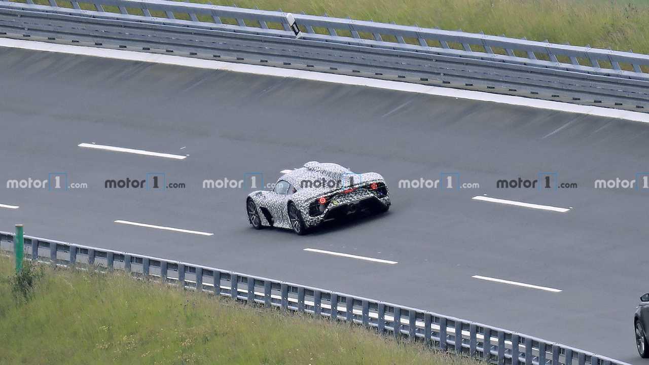 Mercedes-AMG One Spy Photo