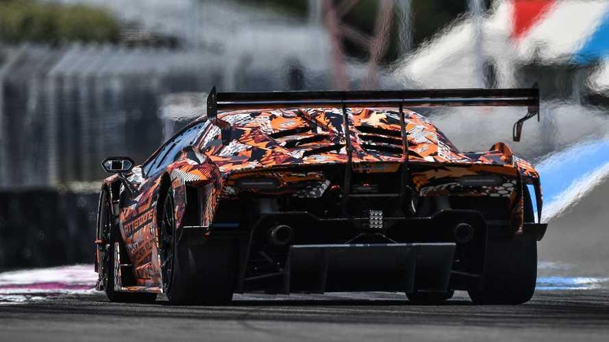 Lamborghini SCV12, teasers