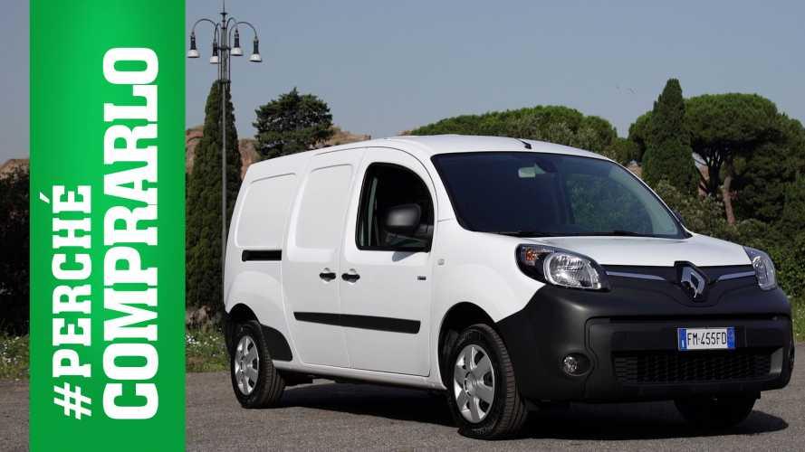 Renault Kangoo Z.E. | Perché comprarlo... e perché no