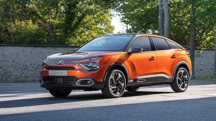Erste Bilder von Citroën C4 und e-C4 (2020)