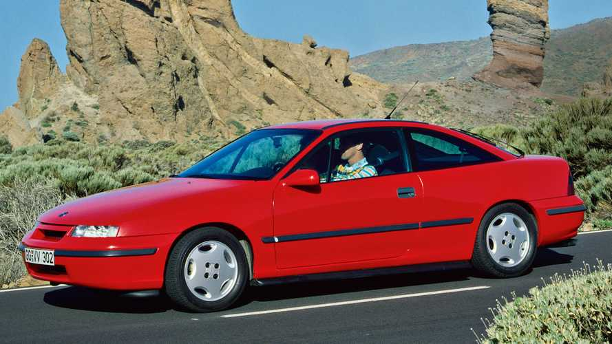 Opel Calibra 1990-1994: relevo histórico