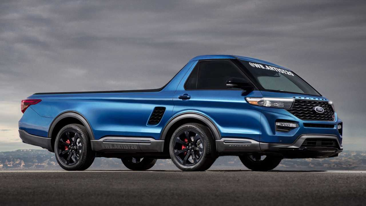 2020 Mid-Engine Ford Explorer Rendering