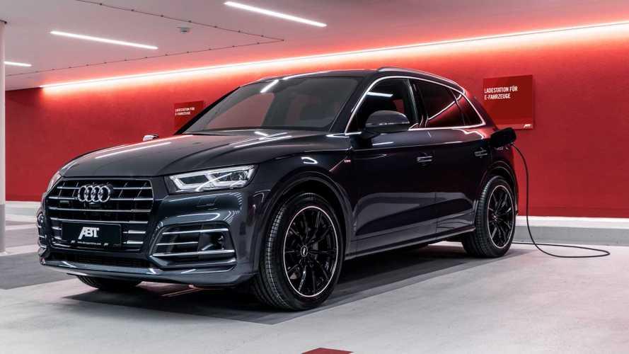 Néhány lóerőt és új felniket kapott az ABT-től a hibrid Audi Q5-ös