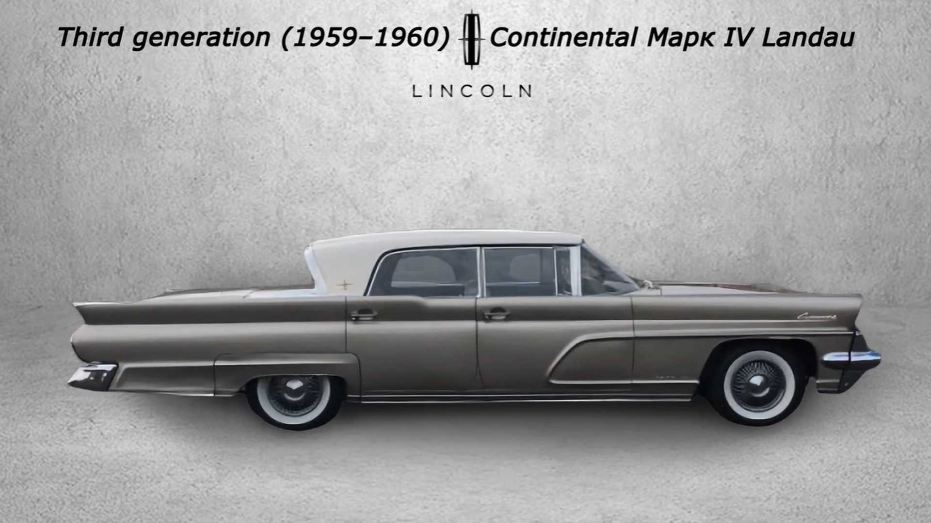 Lincoln Continental's Evolution Highlighted In Cool Video