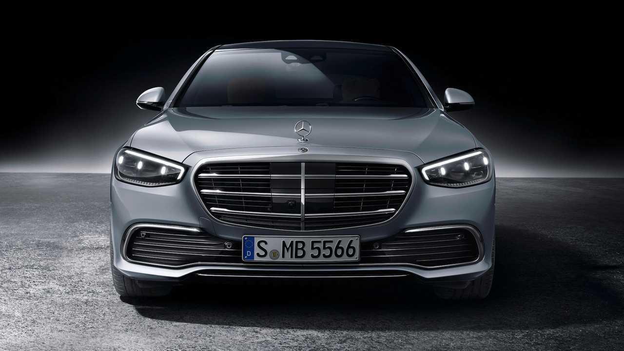 2021 Mercedes-Benz S-Class Front