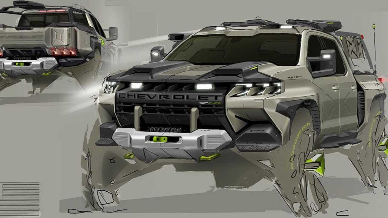 Chevrolet Silverado Tactical Concept