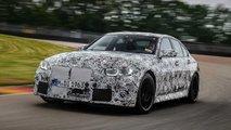 BMW M3 (2020) in pista