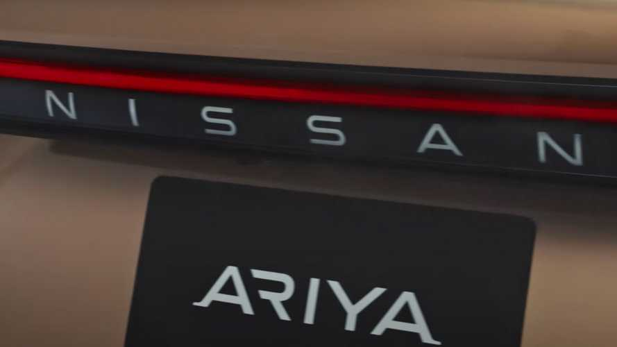 Nissan Ariya Latest Teaser (Screenshots)