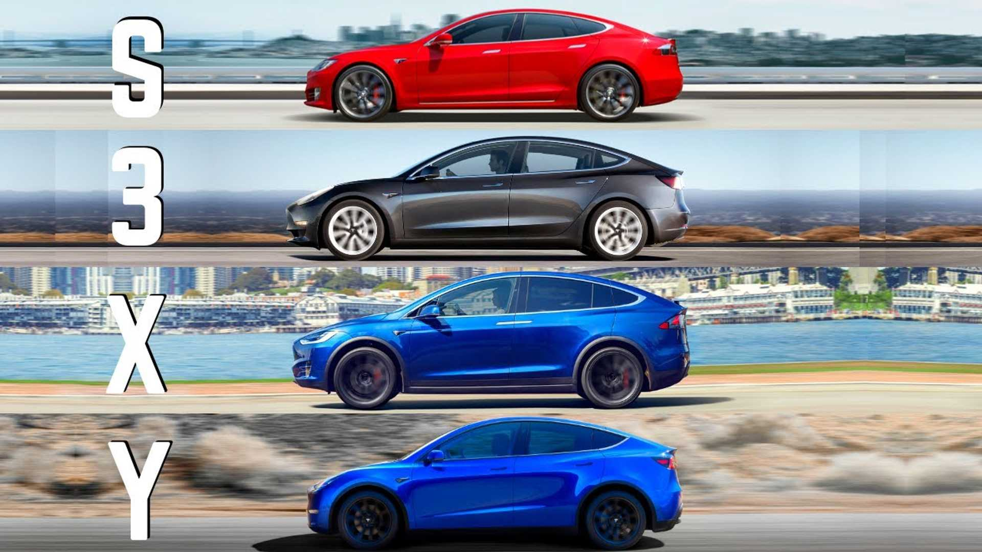Tesla's S3XY Lineup In Detail: A Complete Comparison Of ...