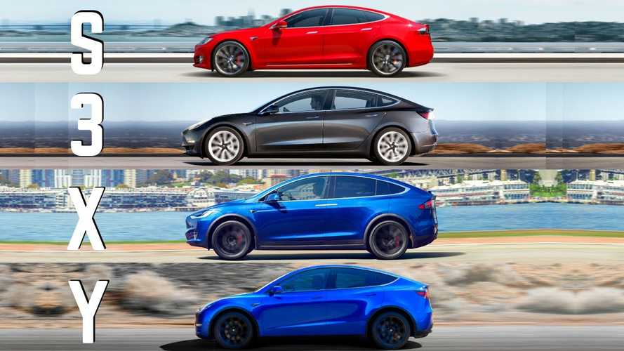 Tesla's S3XY Lineup In Detail: A Complete Comparison Of All Tesla Vehicles
