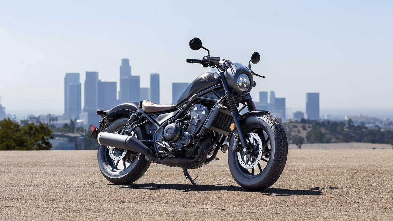 2020 Honda Rebel 300 and 500