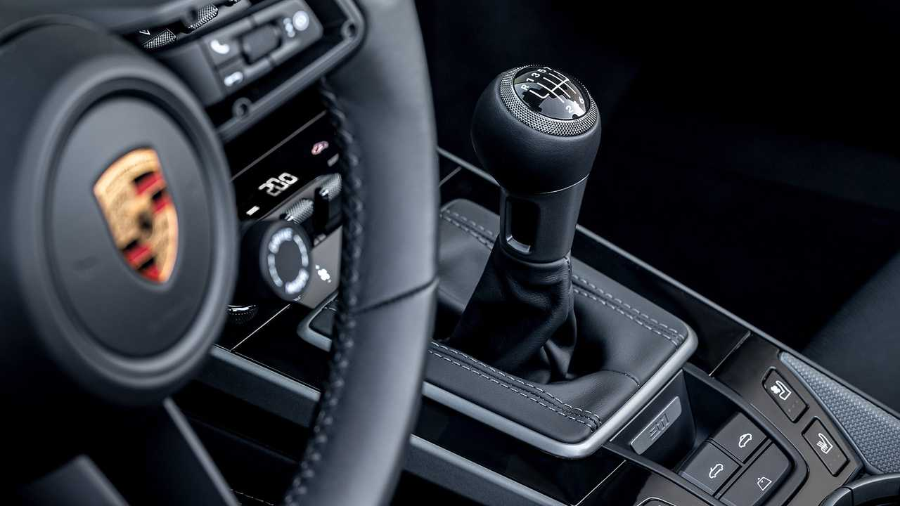 Porsche 911 avec boîte manuelle à sept vitesses