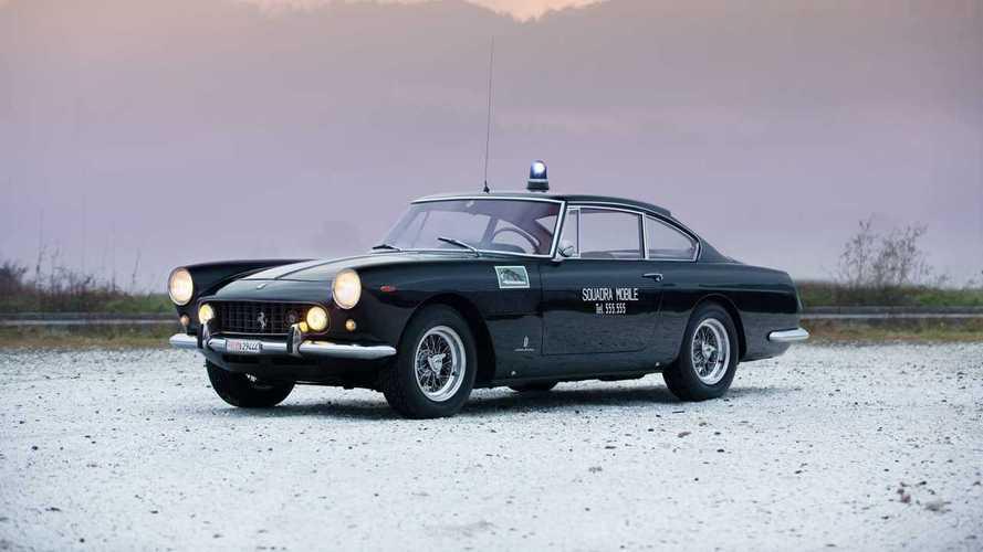 ¿Un Ferrari 250 GTE 2+2 de policía? Es real y está a la venta