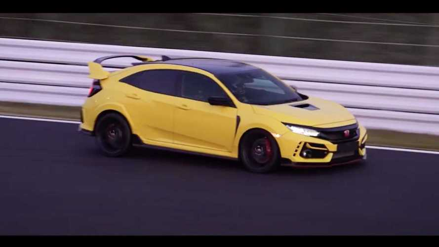El Honda Civic Type R Limited Edition se deja ver en Suzuka