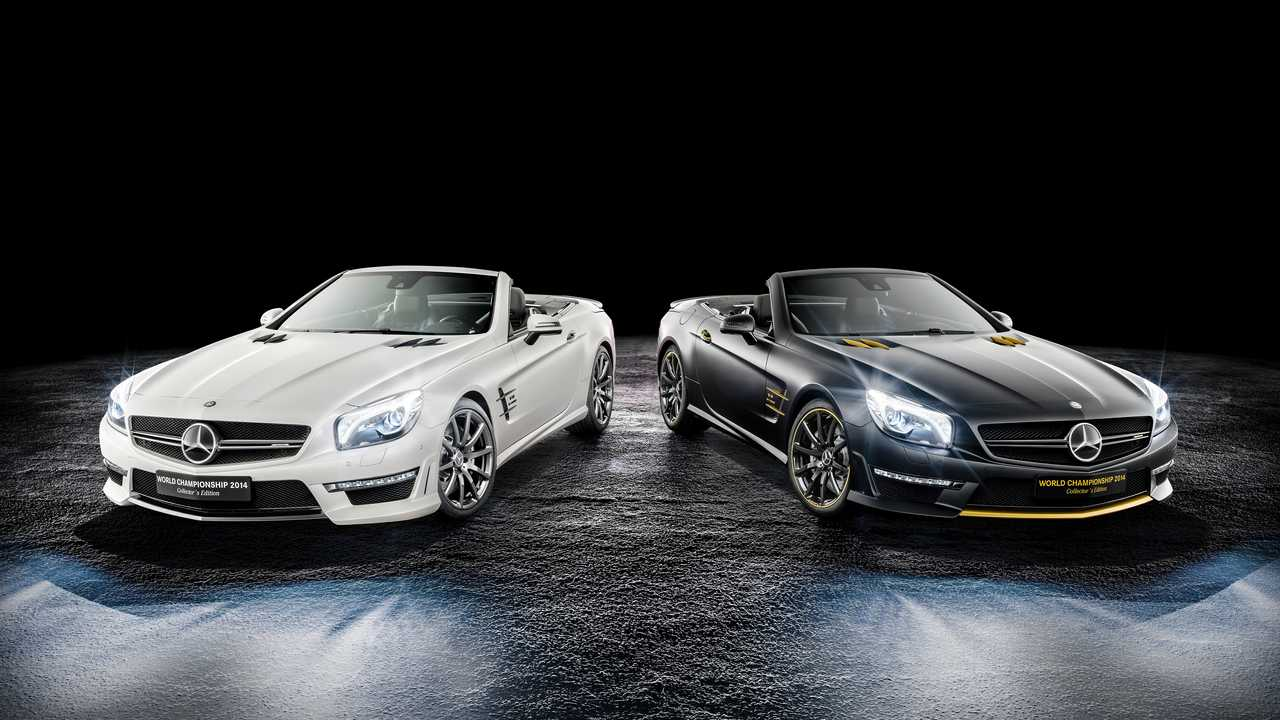 Mercedes-Benz SL 63 AMG Championnat du Monde 2014 Édition Collector