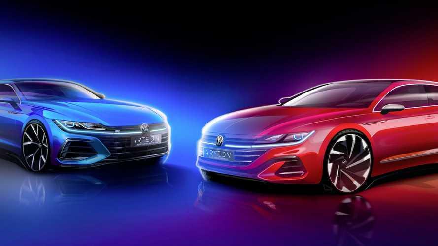 Volkswagen Arteon, i teaser del restyling