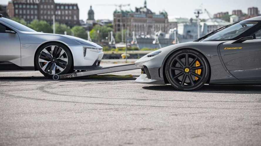 Koenigsegg и Polestar объединились для «кое-чего захватывающего»