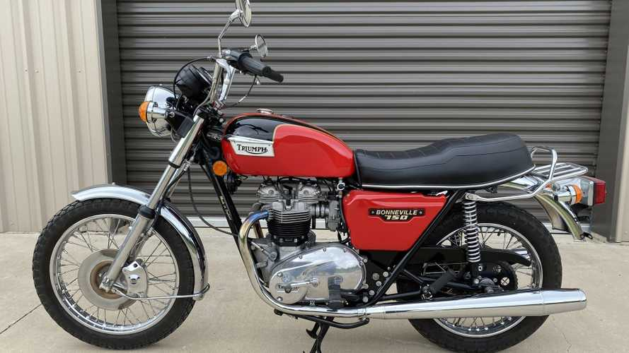 This 1979 Triumph Bonneville Could Be The Best Vintage Brit Bike