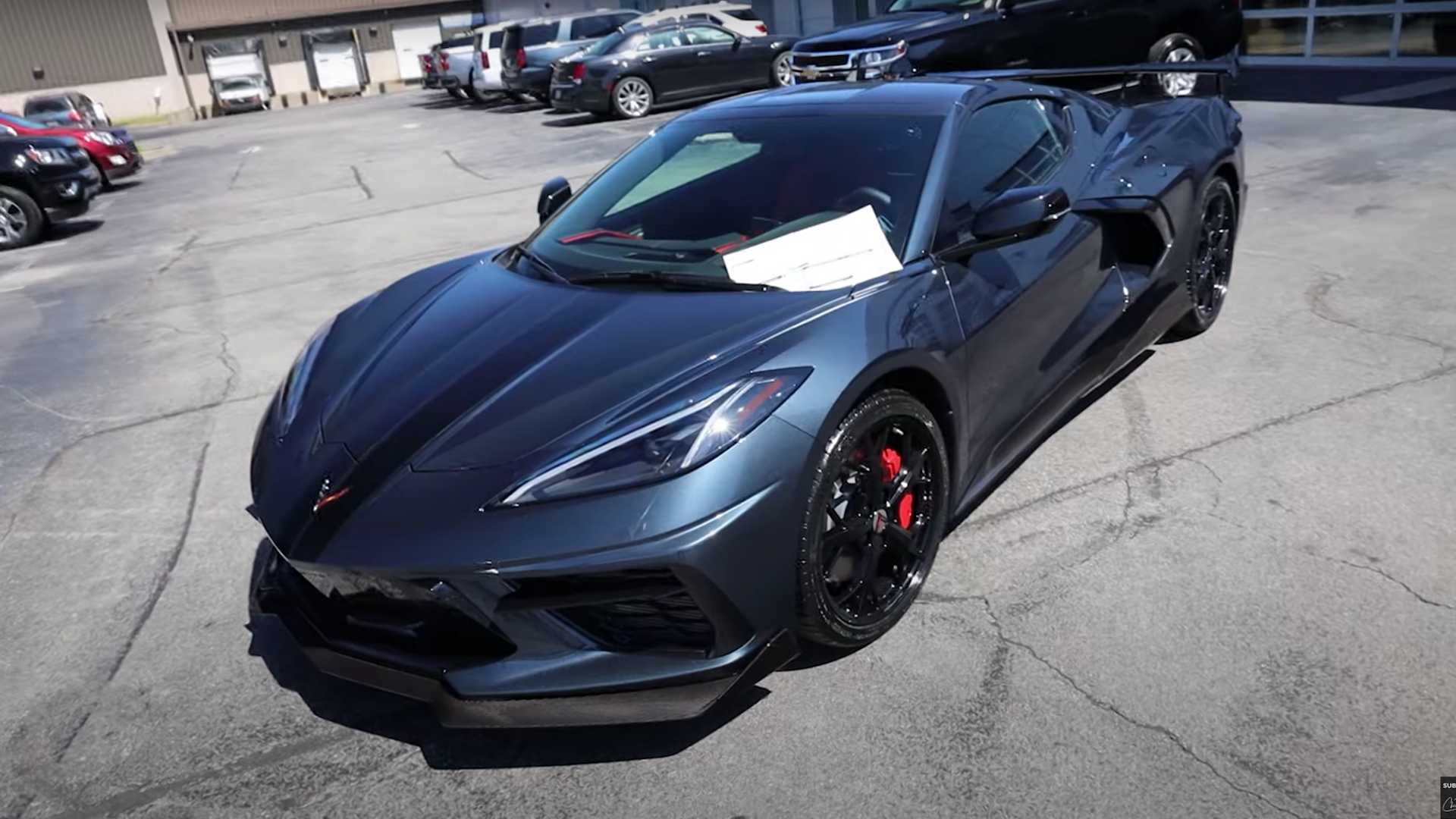 Chevy Dealer Given Total Freedom To Spec Customer's Corvette C8