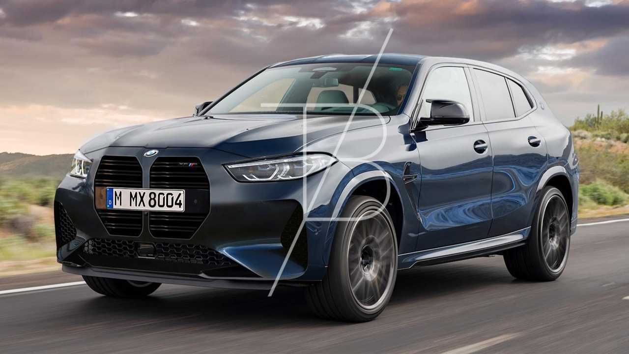 BMW X8 M Rendering by Tobias Buttner