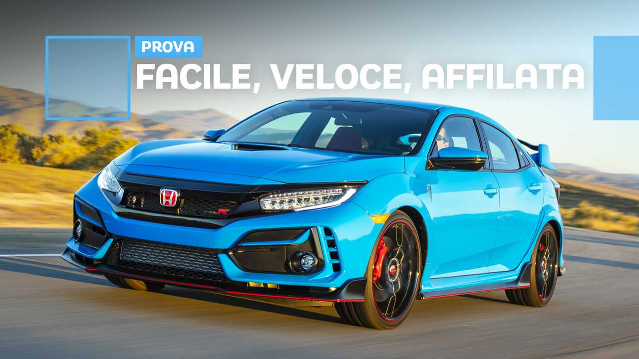 Honda Civic Type R restyling 2020, la prova