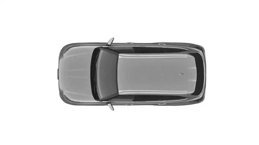 Патентные изображения нового Toyota Highlander для России