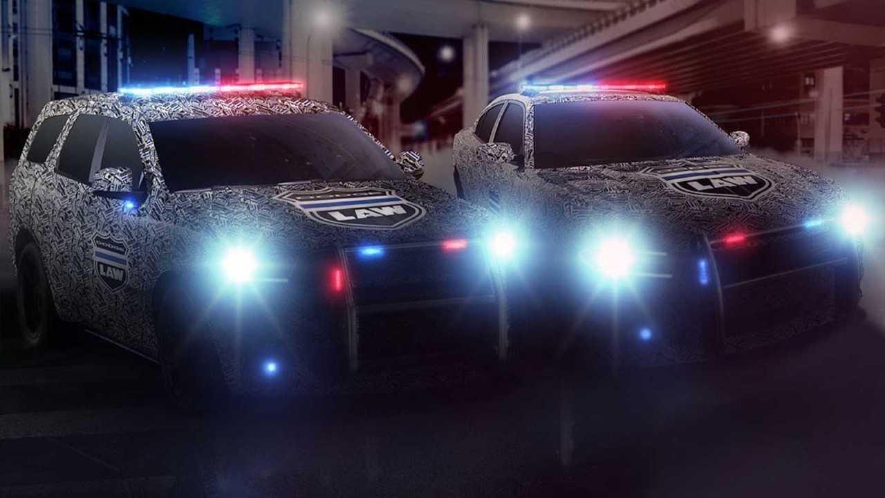 2021 Dodge Charger, Durango Pursuit Models Teased
