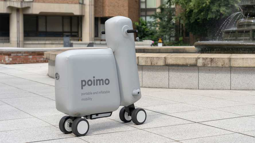 Poimo Soft Inflatable Scooter