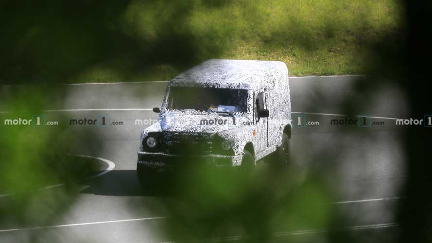 Ineos Grenadier spied looking  a lot like old Land Rover Defender