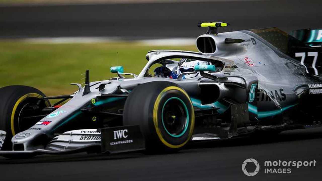 Valtteri Bottas at British GP 2019