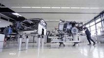 Кадры из документального фильма о Bugatti Chiron