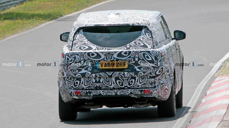Новый Range Rover с мощным мотором заметили на Нюрбургринге