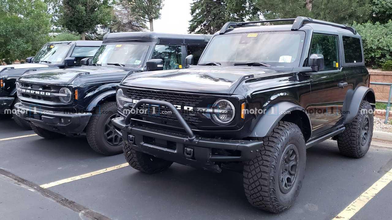 Confronto Ford Bronco Sasquatch