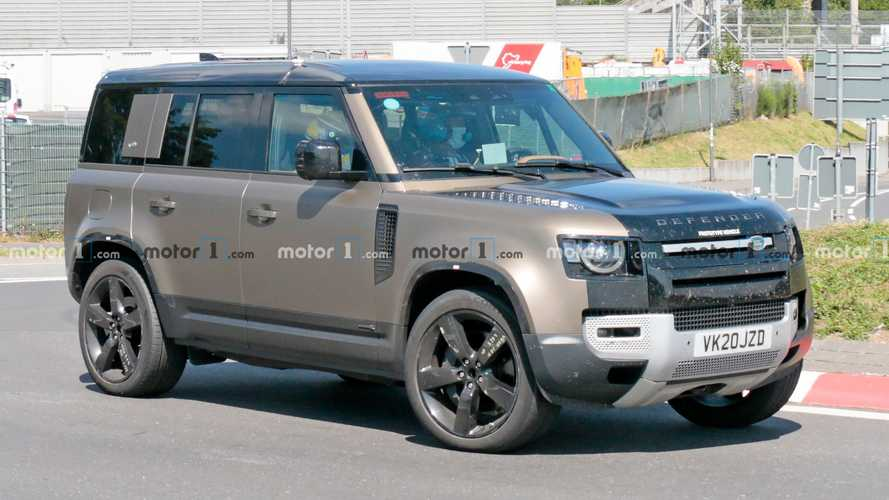 Land Rover Defender V8 Spy Photos Hide Only The Mystery Engine