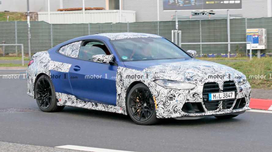 2021 BMW M4 Spied Completing Final R&D Tests At Nurburgring