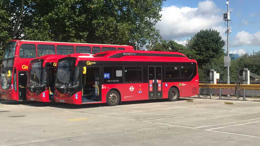 London bus garage becomes world's largest vehicle-to-grid site