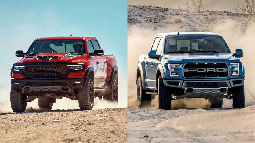 2021 Ram TRX Vs Ford Raptor: Which Truck Is Toughest?