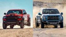 ram trx vs ford raptor comparison