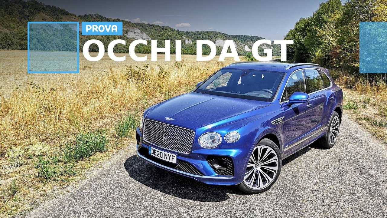 cover bentayga restyling prova francia