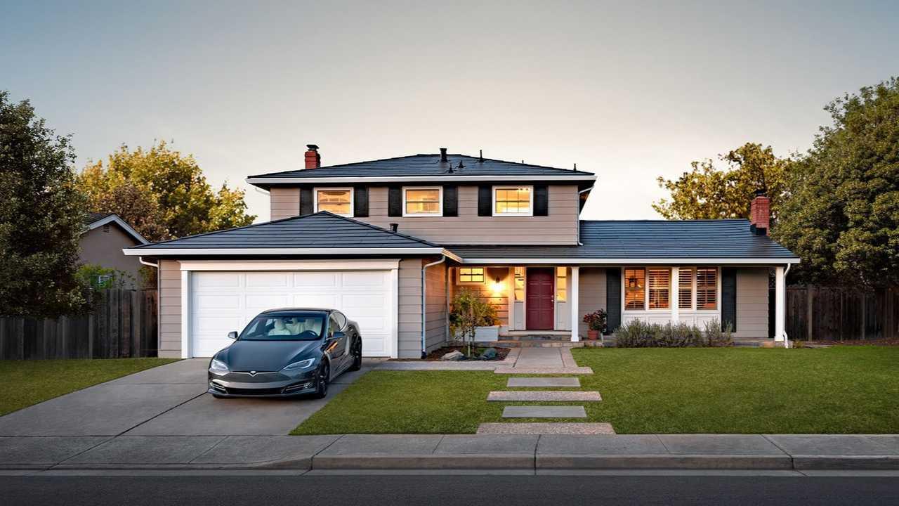 Tesla Solar Roof and Tesla Model S