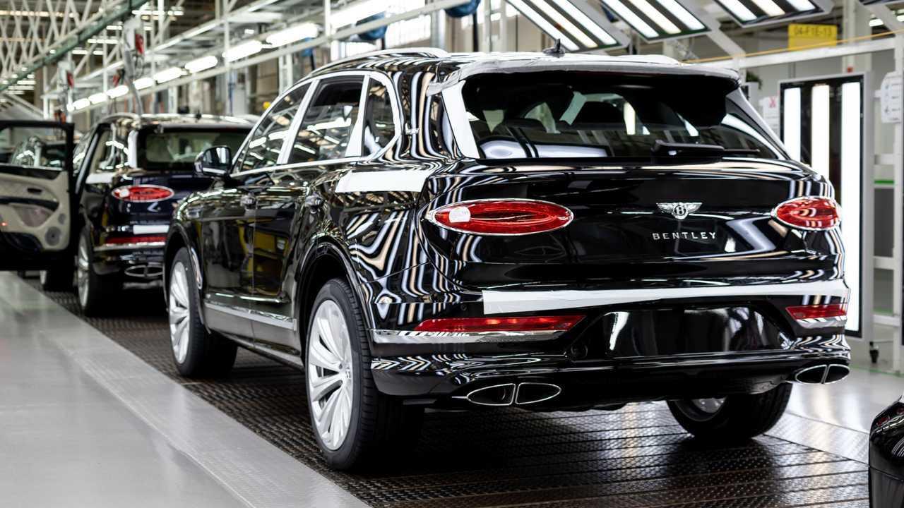 Bentley is ramping up Bentayga production